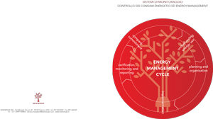 Sistemi di Monitoraggio - Controllo dei consumi ed Energy Management