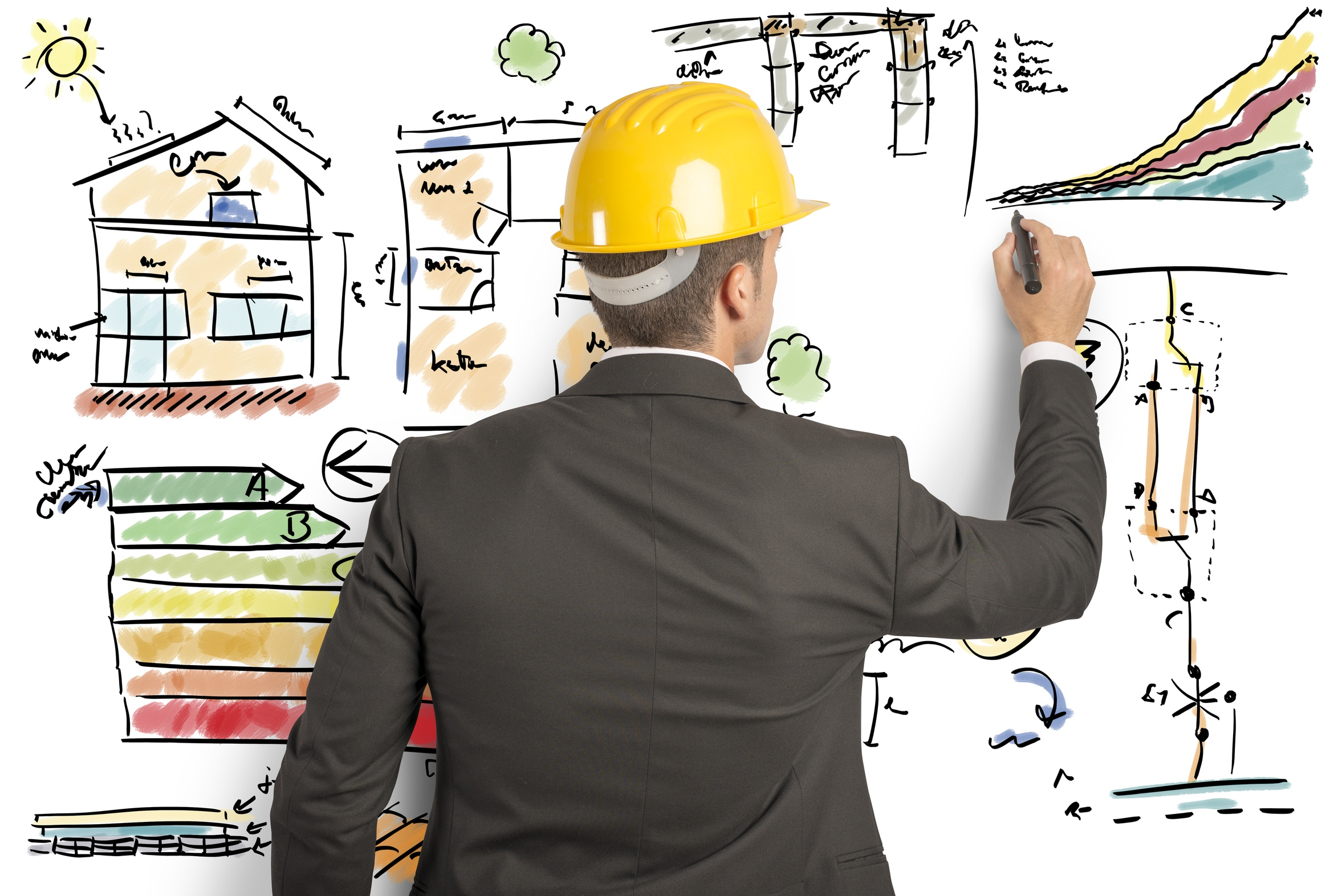 Engineer that calculates the energy efficiency of a house